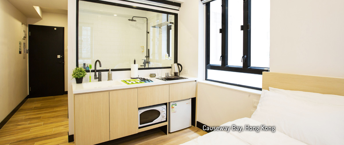 Ideal Living Spaces For Modern, Urban Professionals. Serviced Apartment